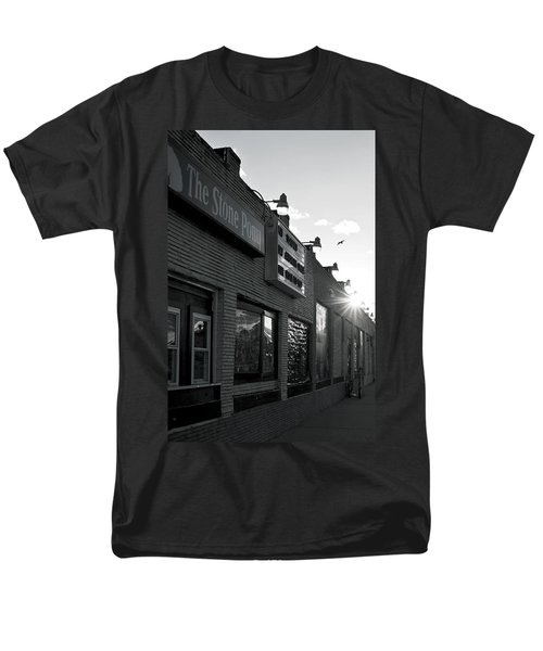 The Stone Pony Asbury Park Side View Men's T-Shirt  (Regular Fit) by Terry DeLuco