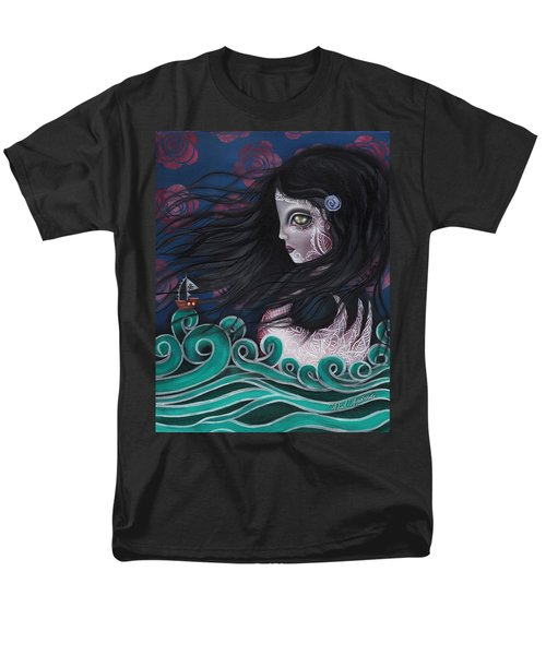 The Swan Men's T-Shirt  (Regular Fit) by Abril Andrade Griffith