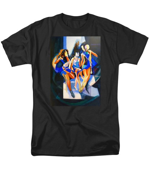 Men's T-Shirt  (Regular Fit) featuring the painting The Three Graces by Georg Douglas