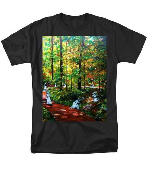Men's T-Shirt  (Regular Fit) featuring the painting The Trials by Emery Franklin