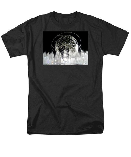The Unisphere's 50th Anniversary Men's T-Shirt  (Regular Fit) by Ed Weidman