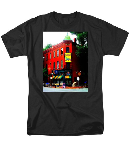 The Venice Cafe' Edited Men's T-Shirt  (Regular Fit) by Kelly Awad