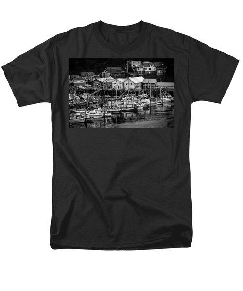 The Village Pier Men's T-Shirt  (Regular Fit) by Melinda Ledsome