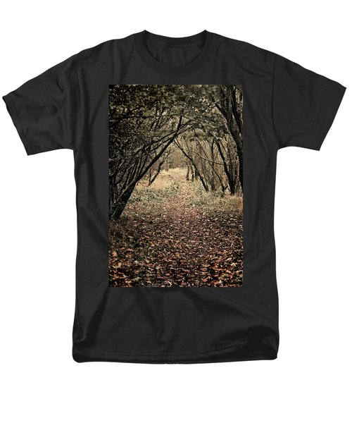 Men's T-Shirt  (Regular Fit) featuring the photograph The Walk by Meirion Matthias