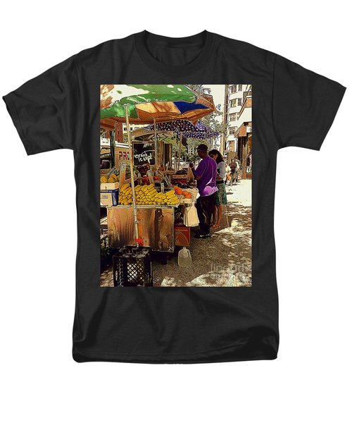 Men's T-Shirt  (Regular Fit) featuring the photograph The Water Jug by Miriam Danar