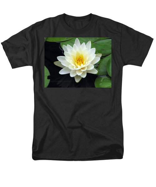 Men's T-Shirt  (Regular Fit) featuring the photograph The Water Lilies Collection - 02 by Pamela Critchlow