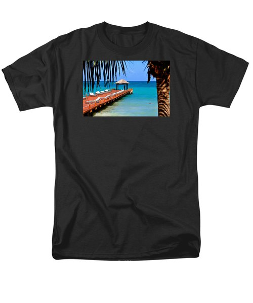 Men's T-Shirt  (Regular Fit) featuring the photograph The Wedding Embrace by Kicking Bear  Productions