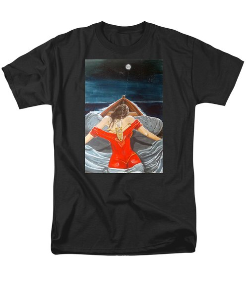 The Whims Of The Moon  Men's T-Shirt  (Regular Fit) by Lazaro Hurtado