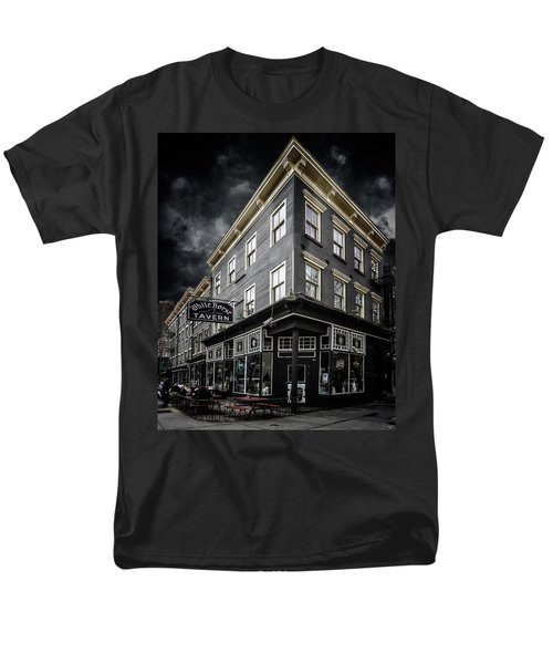 The White Horse Tavern Men's T-Shirt  (Regular Fit) by Chris Lord