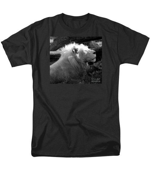 The White King Men's T-Shirt  (Regular Fit) by Marcia Lee Jones