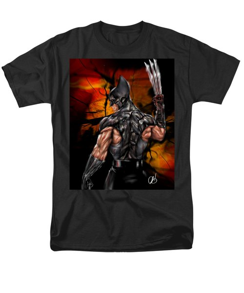 The Wolverine Men's T-Shirt  (Regular Fit) by Pete Tapang
