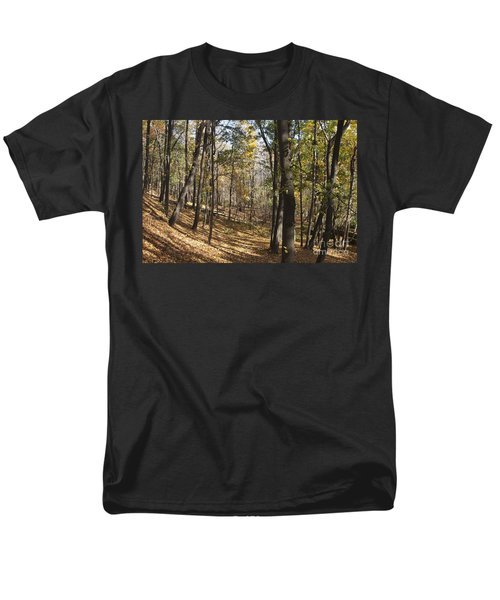 Men's T-Shirt  (Regular Fit) featuring the photograph The Woods by William Norton
