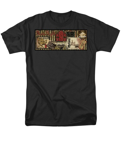 Theater Men's T-Shirt  (Regular Fit) by Jean Plout