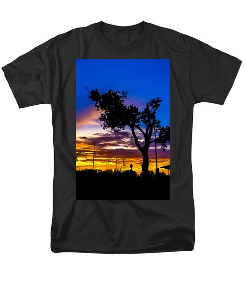 There Is Something Magical About The Sky Men's T-Shirt  (Regular Fit) by Tgchan