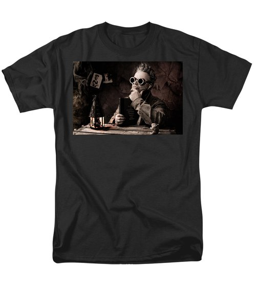 Things To Consider - Steampunk - World Domination Men's T-Shirt  (Regular Fit) by Gary Heller