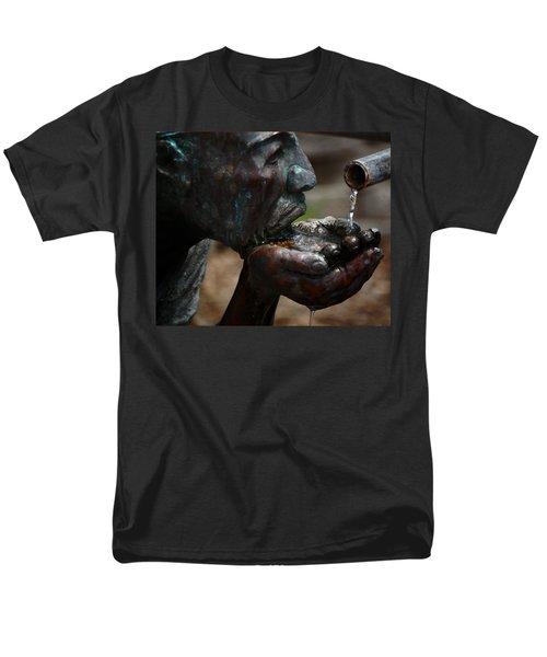Men's T-Shirt  (Regular Fit) featuring the photograph Thirst Quencher by Leticia Latocki