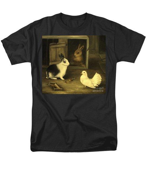 Three Friends Sharing A Moment Men's T-Shirt  (Regular Fit) by Hazel Holland