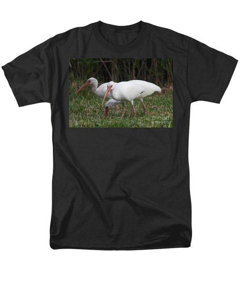 Three Ibis Together Men's T-Shirt  (Regular Fit) by Christiane Schulze Art And Photography
