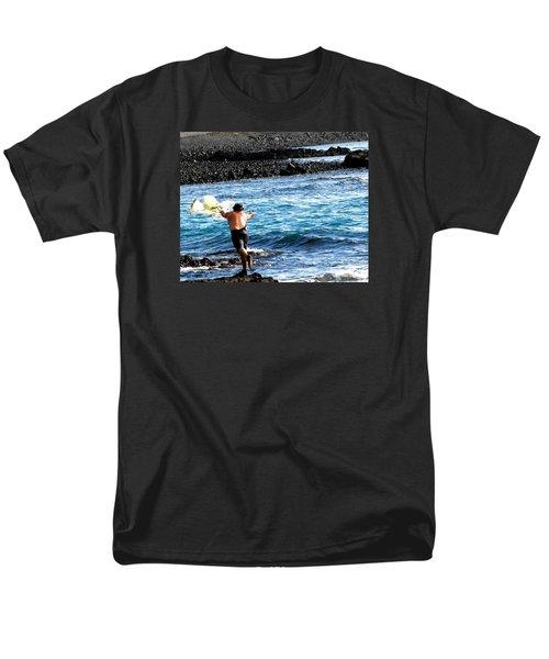 Throw.... Men's T-Shirt  (Regular Fit) by Lehua Pekelo-Stearns