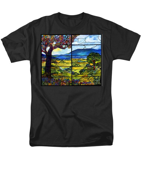 Tiffany Minnie Proctor Window Men's T-Shirt  (Regular Fit) by Donna Walsh