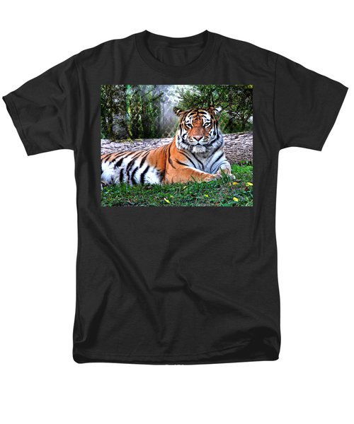 Men's T-Shirt  (Regular Fit) featuring the photograph Tiger 2 by Marty Koch
