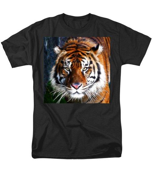 Tiger Close Up Men's T-Shirt  (Regular Fit) by Steve McKinzie