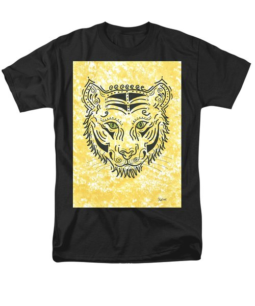 Tiger Eye Men's T-Shirt  (Regular Fit) by Susie WEBER