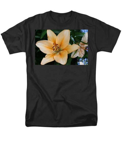 Men's T-Shirt  (Regular Fit) featuring the photograph Tiger Lily by Dora Sofia Caputo Photographic Art and Design