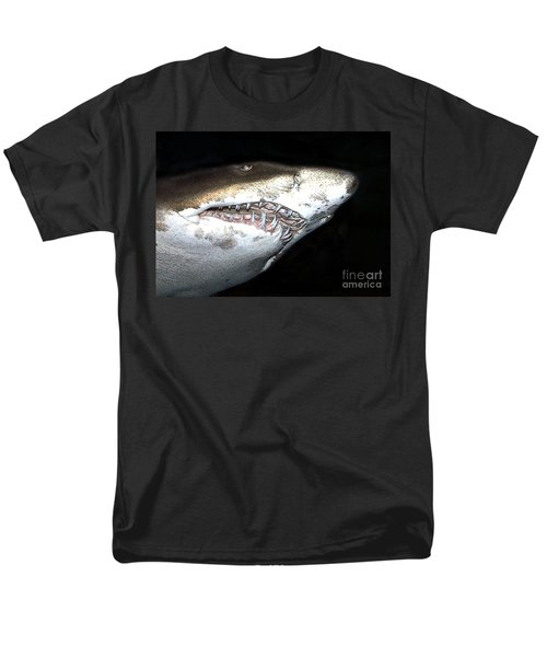 Tiger Shark Men's T-Shirt  (Regular Fit) by Sergey Lukashin