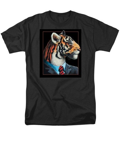 Men's T-Shirt  (Regular Fit) featuring the digital art Tigerman by Scott Ross