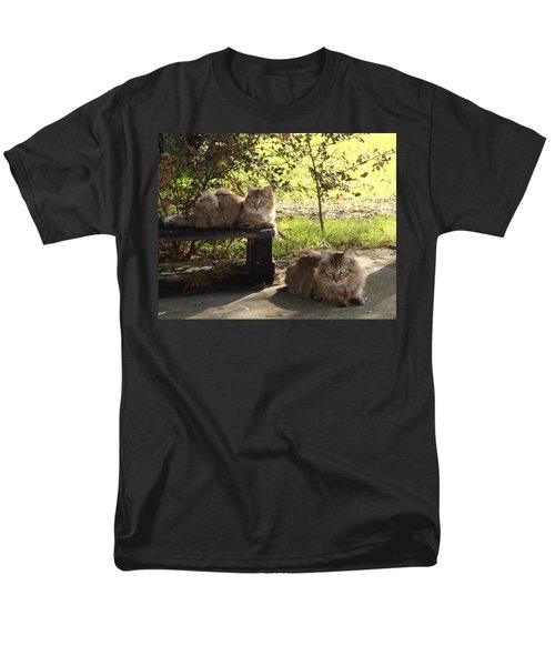 Timber And Cougar Men's T-Shirt  (Regular Fit) by Barbie Batson