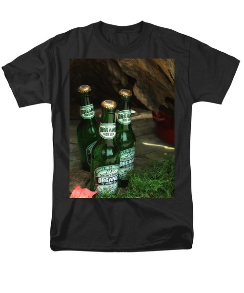Men's T-Shirt  (Regular Fit) featuring the photograph Time In Bottles by Rachel Mirror