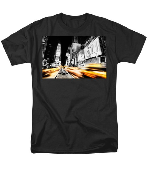 Time Lapse Square Men's T-Shirt  (Regular Fit) by Andrew Paranavitana