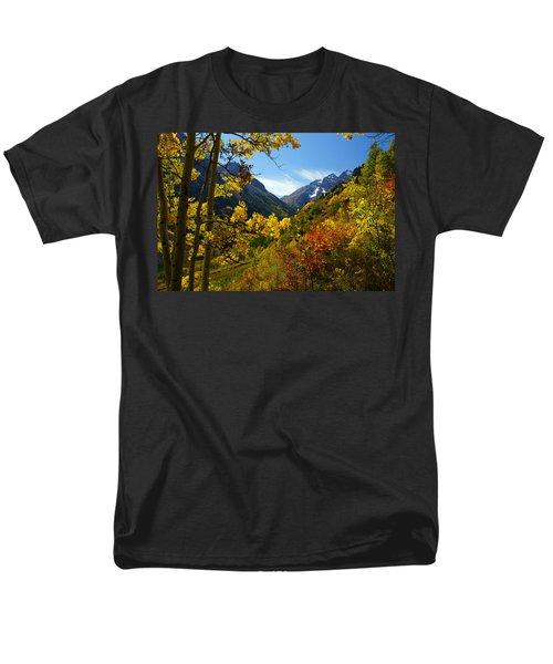 Time Stops Men's T-Shirt  (Regular Fit) by Jeremy Rhoades