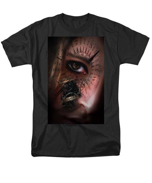 Time Travler  Men's T-Shirt  (Regular Fit) by Nathan Wright