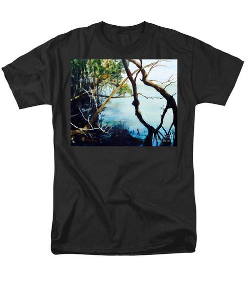 Timeless Forest Men's T-Shirt  (Regular Fit) by Mary Lynne Powers