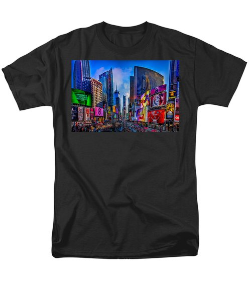 Times Square Men's T-Shirt  (Regular Fit) by Chris Lord