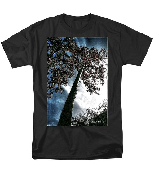 Tippy Top Tree II Art Men's T-Shirt  (Regular Fit)