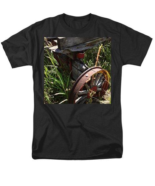 Men's T-Shirt  (Regular Fit) featuring the photograph Tireless by Meghan at FireBonnet Art