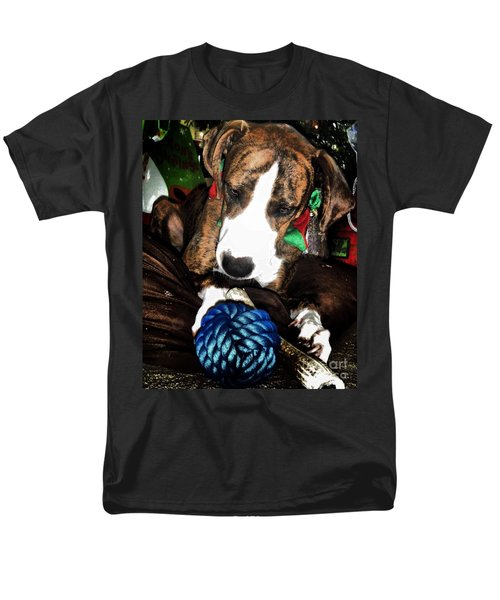Men's T-Shirt  (Regular Fit) featuring the photograph 'tis Better To Receive by Robert McCubbin