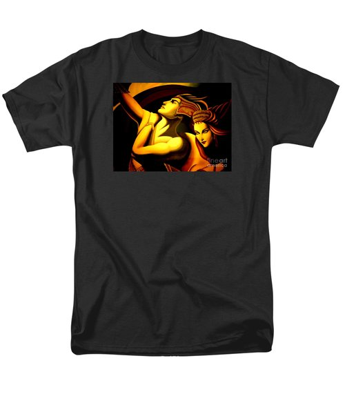 Men's T-Shirt  (Regular Fit) featuring the photograph Together by Newel Hunter