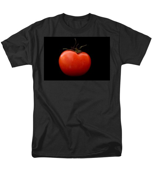 Tomato On Black Men's T-Shirt  (Regular Fit) by Jeremy Voisey
