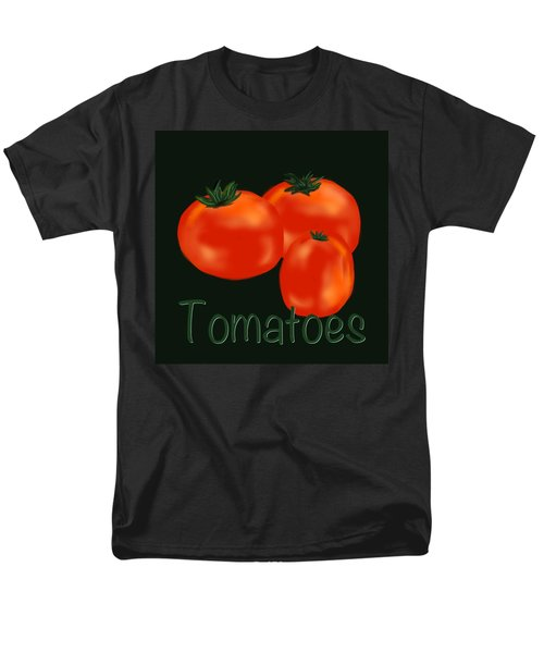 Tomatoes Men's T-Shirt  (Regular Fit)