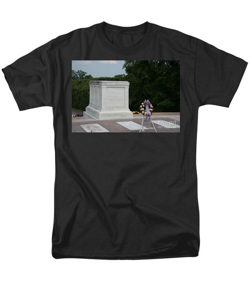Tomb Of The Unknown Soldier Men's T-Shirt  (Regular Fit) by Carol Ailles