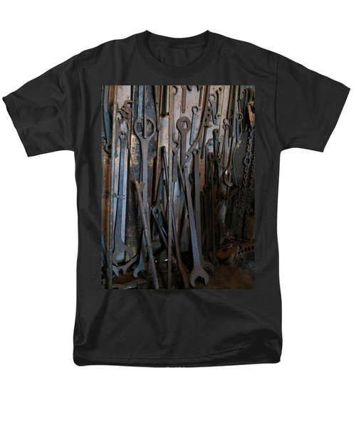 Tools Of The Roundhouse Men's T-Shirt  (Regular Fit) by Laurel Powell