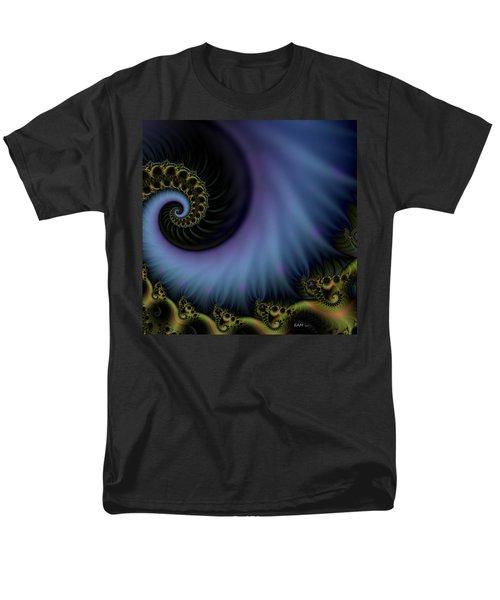 Men's T-Shirt  (Regular Fit) featuring the digital art Tornado Dancers by Elizabeth McTaggart