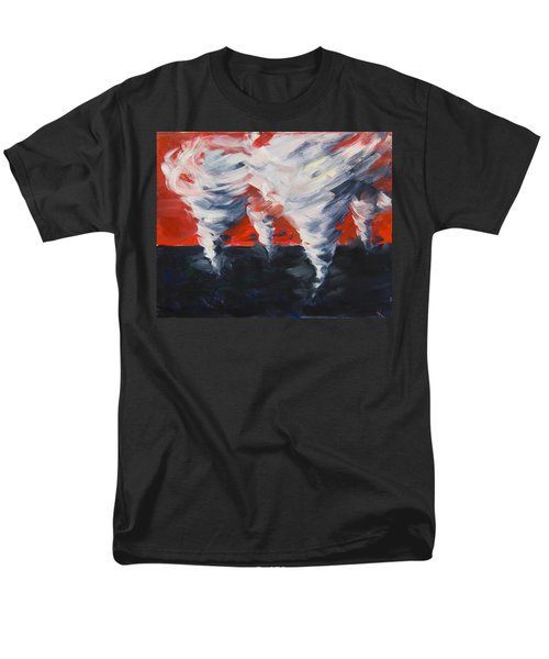 Men's T-Shirt  (Regular Fit) featuring the painting Apocalyptic Dream by Yulia Kazansky