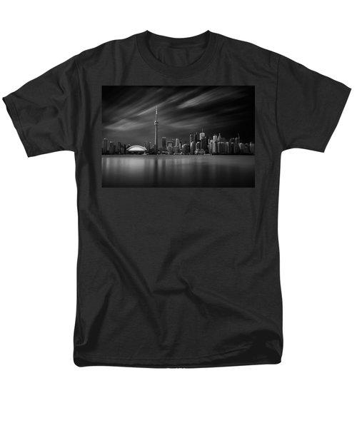 Toronto Skyline - 8 Minutes In Toronto Men's T-Shirt  (Regular Fit) by Ian Good