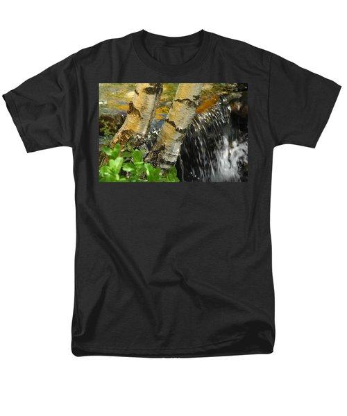 Totally Birching Men's T-Shirt  (Regular Fit) by Donna Blackhall
