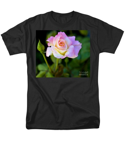 Rose-touch Me Softly Men's T-Shirt  (Regular Fit) by David Millenheft